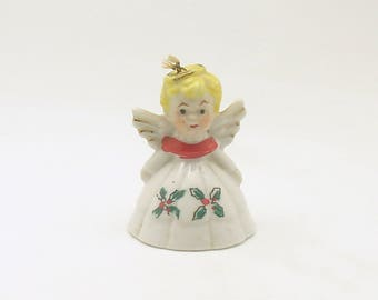Vintage Christmas Ornament Angel Bell Christmas Decoration