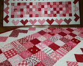 FINISHED PRODUCT: Quilted Hearts Table Runner