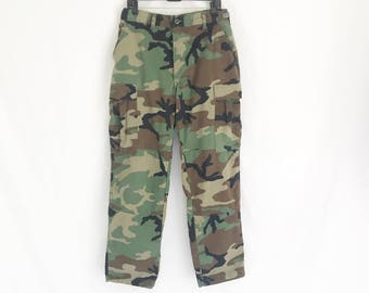 Vintage Military Camo Pants