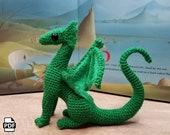 DIGITAL PDF Juvenile Little Dragon Crochet Amigurumi Digital Pattern