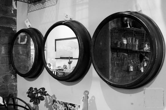 """Portholes,"" Ben's Garden, Huntington, New York, 2017."