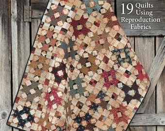 Civil War Remembered B1325 Martingale, civil war quilts, quilt pattern book, reproduction quilt patterns, quilting book, vintage quilt