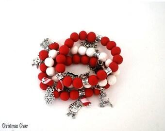 handmade bracelet, Beaded Bracelet, Statement Bracelet, Beaded Jewelry, Bracelets for Women, Ready to Ship, Stackable Bracelet