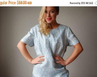 ON SALE 1950s Spring Paisley Evening Dress~Plus Size