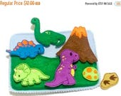 SALE DInosaur activity Quiet book addon page play set educational game busy bags quiet book #QB41