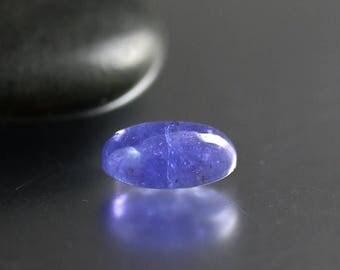 10% OFF SALE Tanzanite Cabachon - 14 x 9mm - Tanzanite - Cabachon