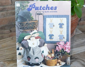Patches Bunny Quilt & Doll Pattern