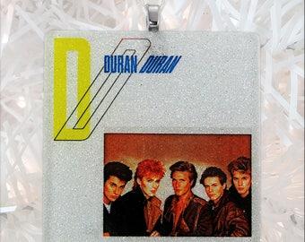 Duran Duran Album Cover Glass Ornament