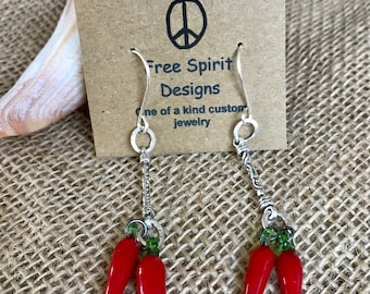 Red Hot Chili Pepper dangles
