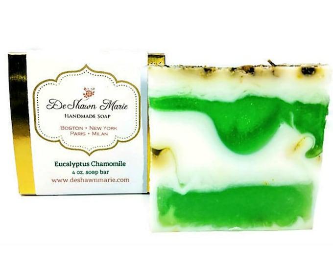 Eucalyptus Chamomile Handmade Soap