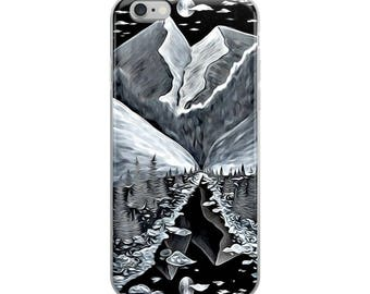 iPhone Case The Source Mountains Moon