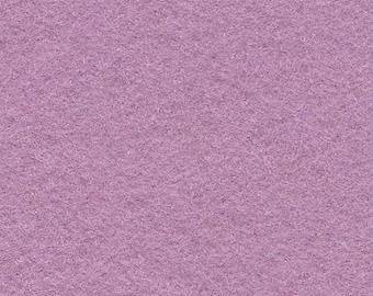 Wisteria 35/65 Wool Blend Felt 12x18