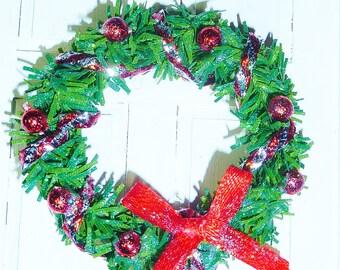 """1"""" Christmas Wreath #7"""