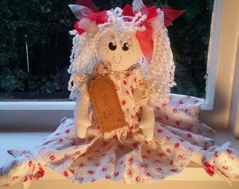 Lynette - a classic rag doll