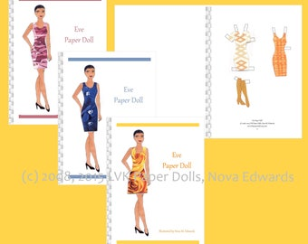 Eve Paper Doll