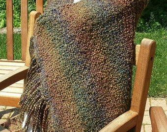 Prayer Shawl, Shawl in Prairie, Bridal Party Shawl, Mother of the Bride, Mother of the Groom, Shawl, Knitted Shawl, Comfort Shawl