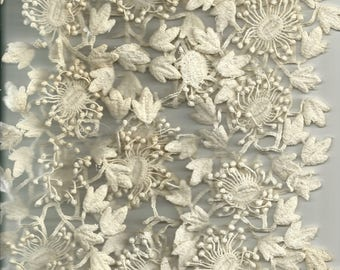 Beautiful vintage crocheted lace