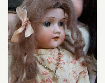 ONSALE Gorgeous Antique Doll  Rosary Pearl Necklace for Antique Dolls