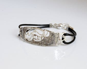 Unique silver bracelet for women Kabbalah fashion jewellery, made in Israel.