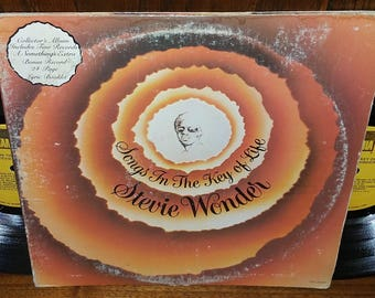 Songs In The Key Of Life Vintage Vinyl Double Album