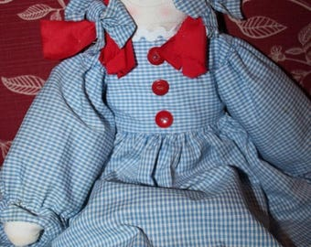 on sale handmade rag doll