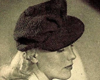 Visor Hat Crochet Pattern 723133