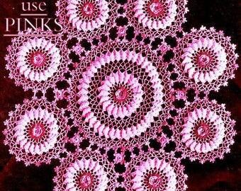 Rambler Rose Doily Crochet Pattern 723140