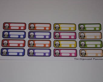 Bill Due Stickers / Pay Bills Stickers / Great to use in your Erin Condren Life Planner or Happy Planner!