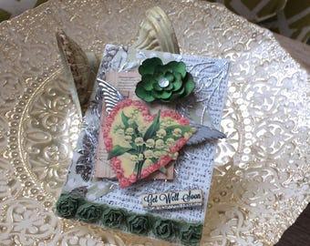 Get Well Card - Handmade Card