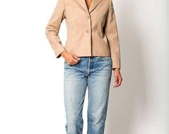 40% OFF CLEARANCE SALE The Vintage Tan Pendleton Wool Blazer Jacket