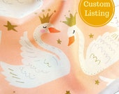 Custom Listing for Lilith Queen of the Flying Pigs - Swan Princess Pouch