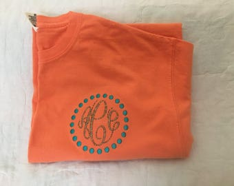 Monogram comfort Colors Tees