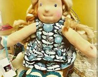 Custom Personalized Waldorf Doll