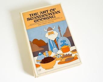 Vintage 1960s Cookbook / Art of Scandivanian Cooking by Nika Hazelton 1965 HCDj VGC / Foods Recipes of Scandinavia for Home Cook