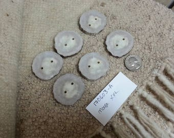 Set of Moose Antler Buttons - Matched Pairs - Lot No. 170603-A