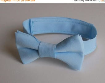 SALE Baby Blue Bowtie - Infant, Toddler, Boy 2 weeks before shipping