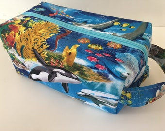 Toiletry Bag Women, Travel Bag, Travel Bag, Toiletry Bag Boys, Orca Ocean