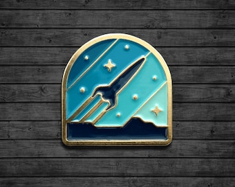 Rocketeer Enamel Pin
