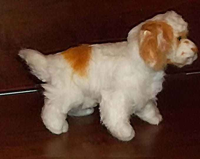 Needle Felted Clumber Spaniel