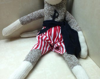 SOCK MONKEY Pirate