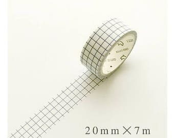 Grid - Dark Washi Tape (SC-159)