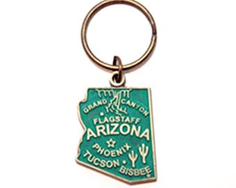 Arizona State Key Chain