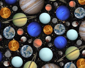 Hoffman - Out of This World - Spectrum Digital Print - Celestials - Fabric by the Yard Q4410-549