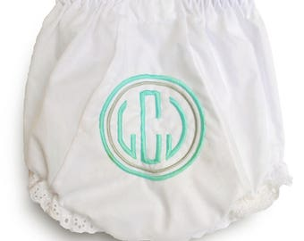 Diaper Covers for Girls / Baby Girl Gift / Newborn Girl Gift / Double Circle Diaper Cover