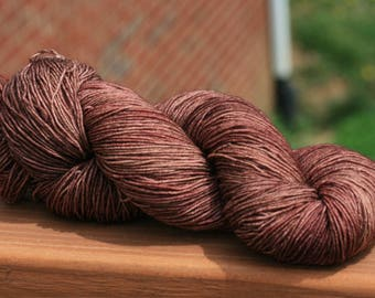 Cocoa Excalibur Sock Yarn sw BFL nylon 100g