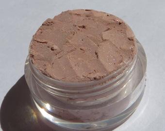 Pale Beige Mineral Eyeshadow   Semi- Sheer Loose Powder Highlighter   Vegan Mineral Eye Shadow-Sandstone