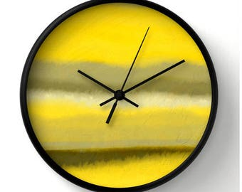 """Good Morning Wall clock - round 10"""" clock brightens any wall in home or office"""