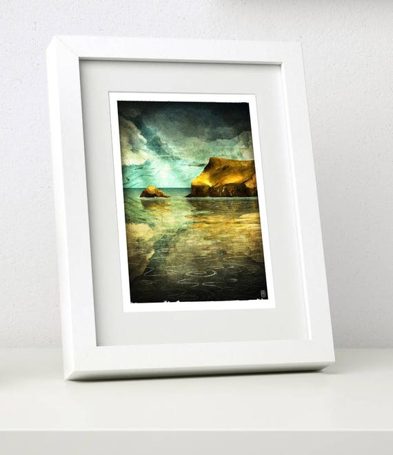 Pentire - Small Framed Print