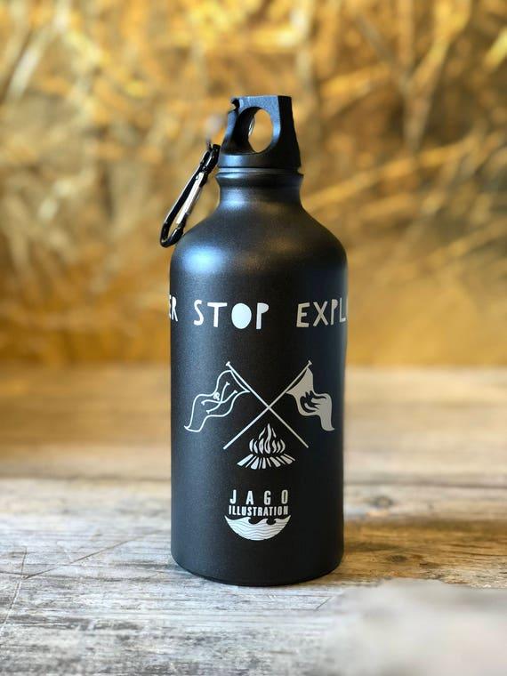 Water Bottle - Never Stop Exploring