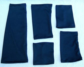 Navy Blue Tattoo Cover Ups, Unisex Arm Covers, Light Weight  Arm Sleeve, Tattoo Cover,  Sun Protector Sleeves, Arm Sleeves, Scar Covers